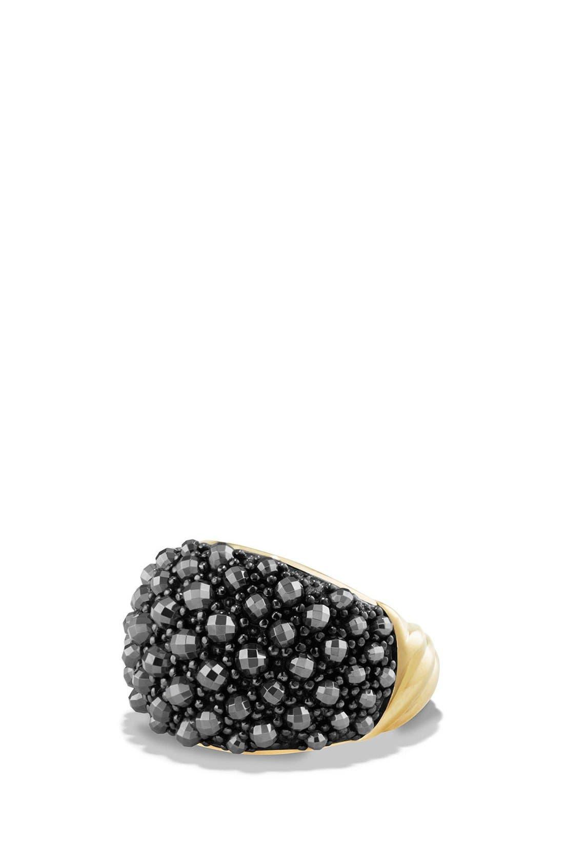 David Yurman Osetra Dome Ring with 18K Gold