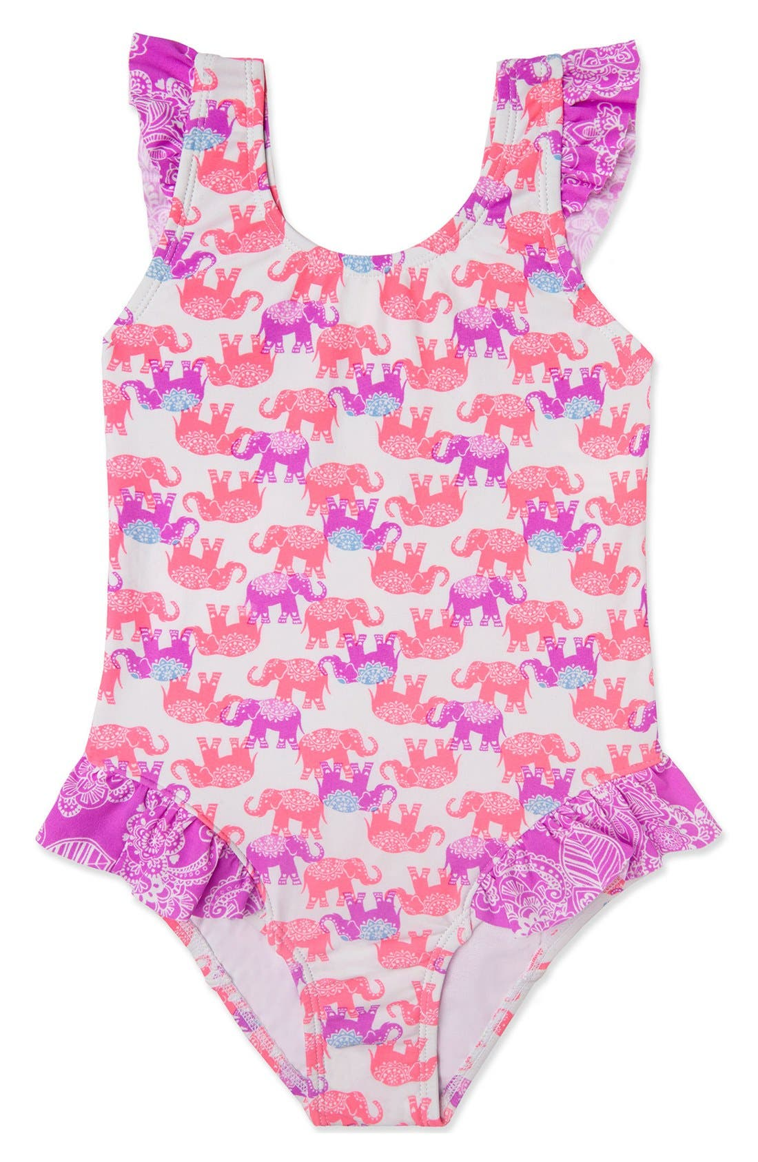 Hula Star 'Barnum & Bailey' One-Piece Swimsuit (Toddler Girls & Little Girls)