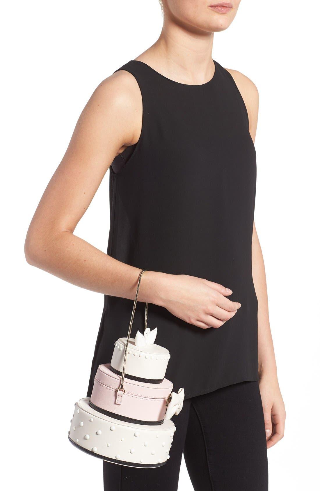 Alternate Image 2  - kate spade new york 'wedding belles - cake' leather handbag