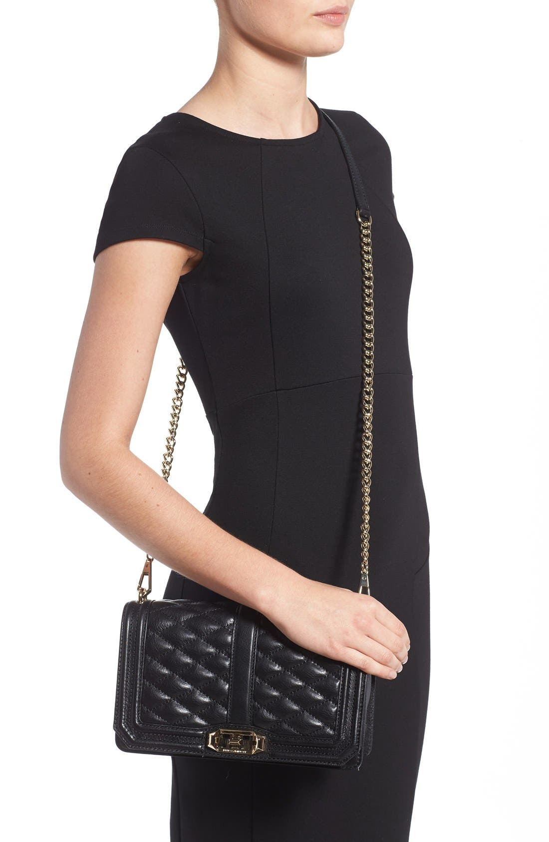 Alternate Image 2  - Rebecca Minkoff Love Leather Crossbody Bag
