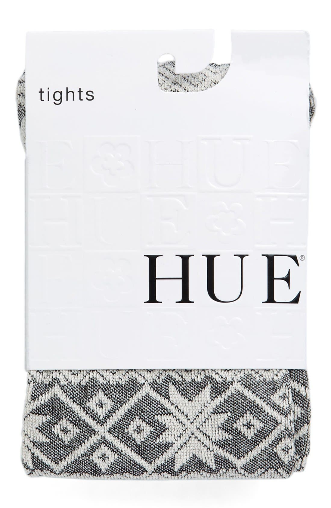 Alternate Image 2  - Hue Fair Isle Sweater Tights