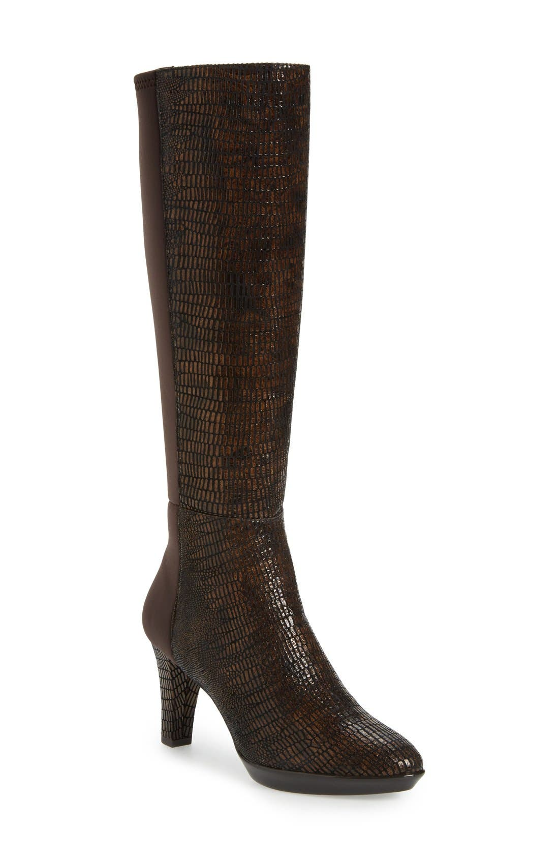 J. Renée 'Callysta' Knee-High Platform Boot (Women)
