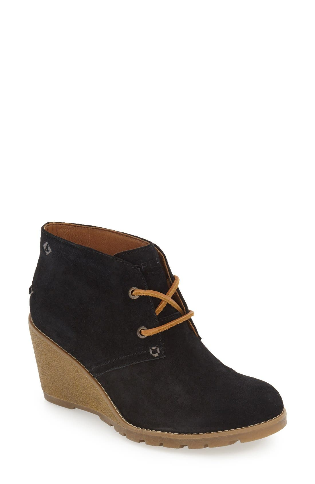 sperry stella prow wedge chukka boot nordstrom
