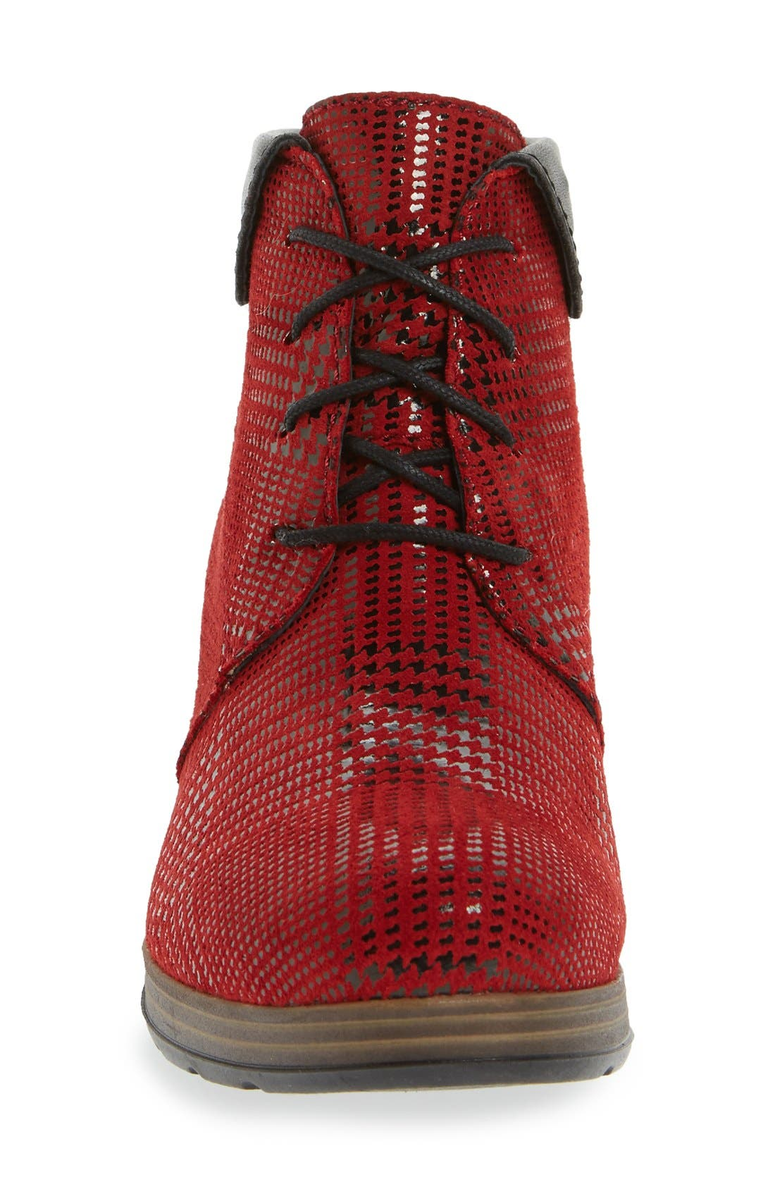 Alternate Image 3  - Wolky 'Jacquerie' Lace-Up Bootie (Women)