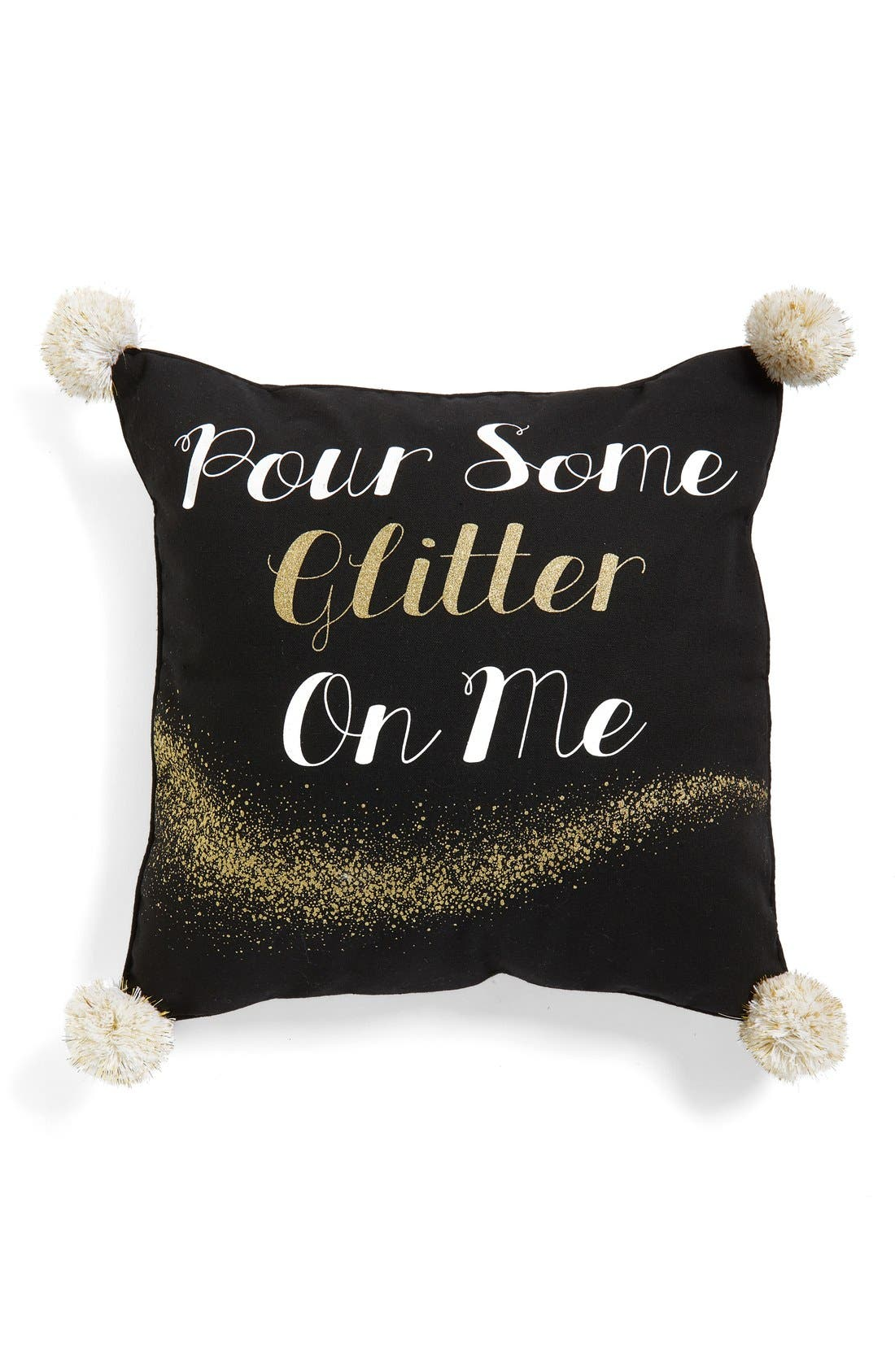 Alternate Image 1 Selected - Levtex 'Pour Some Glitter On Me' Accent Pillow
