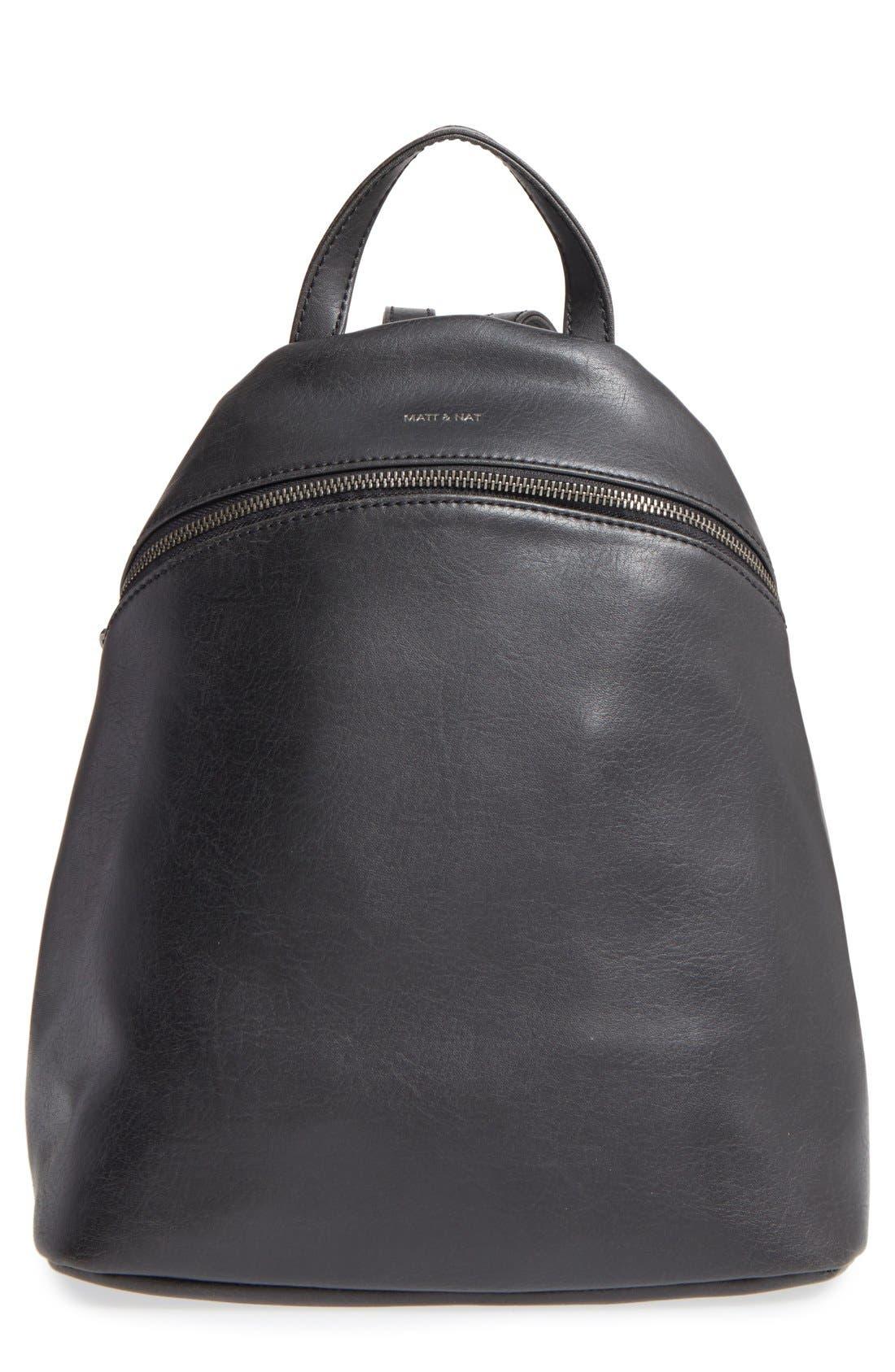 Alternate Image 1 Selected - Matt & Nat 'Aries' Faux Leather Backpack
