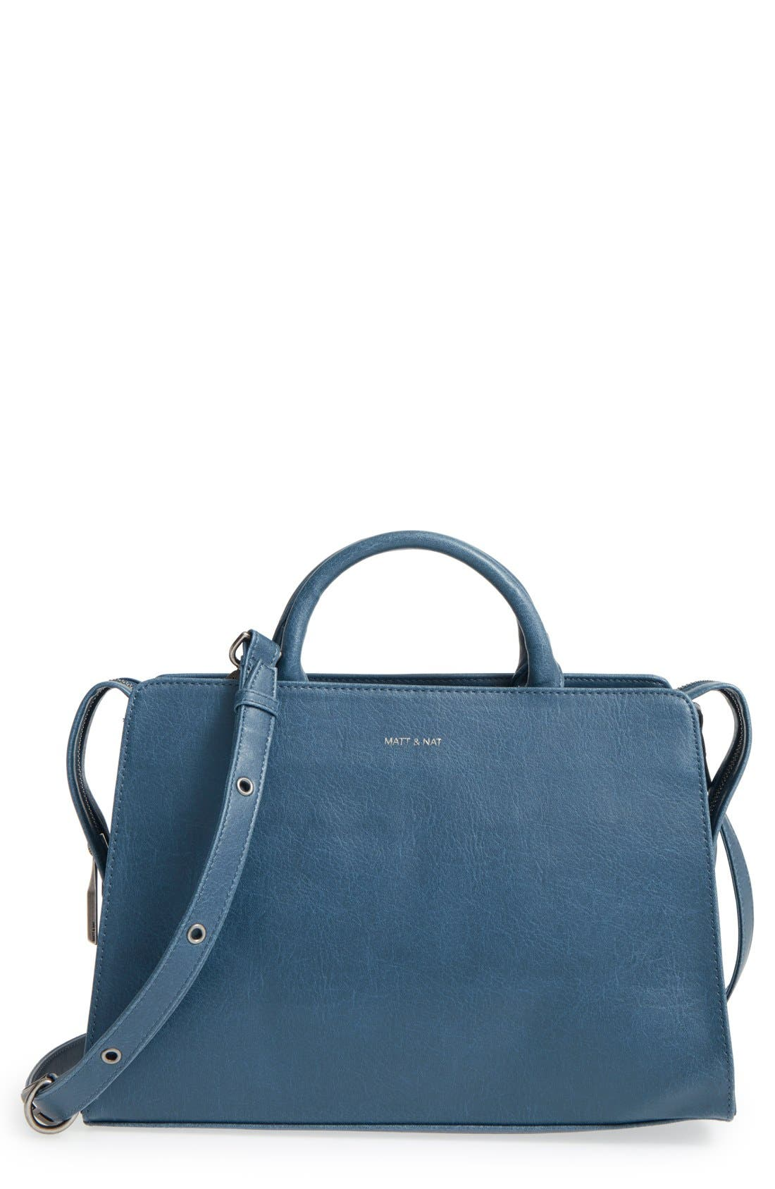 MATT & NAT 'Portia' Vegan Leather Satchel