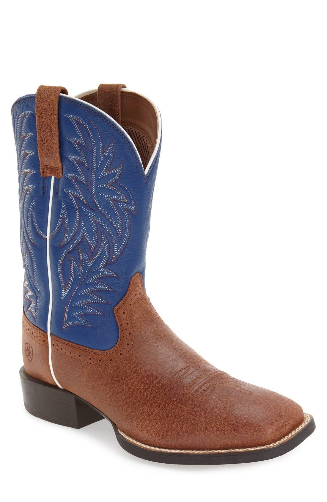 Ariat 'Sport Western' Cowboy Boot (Men)