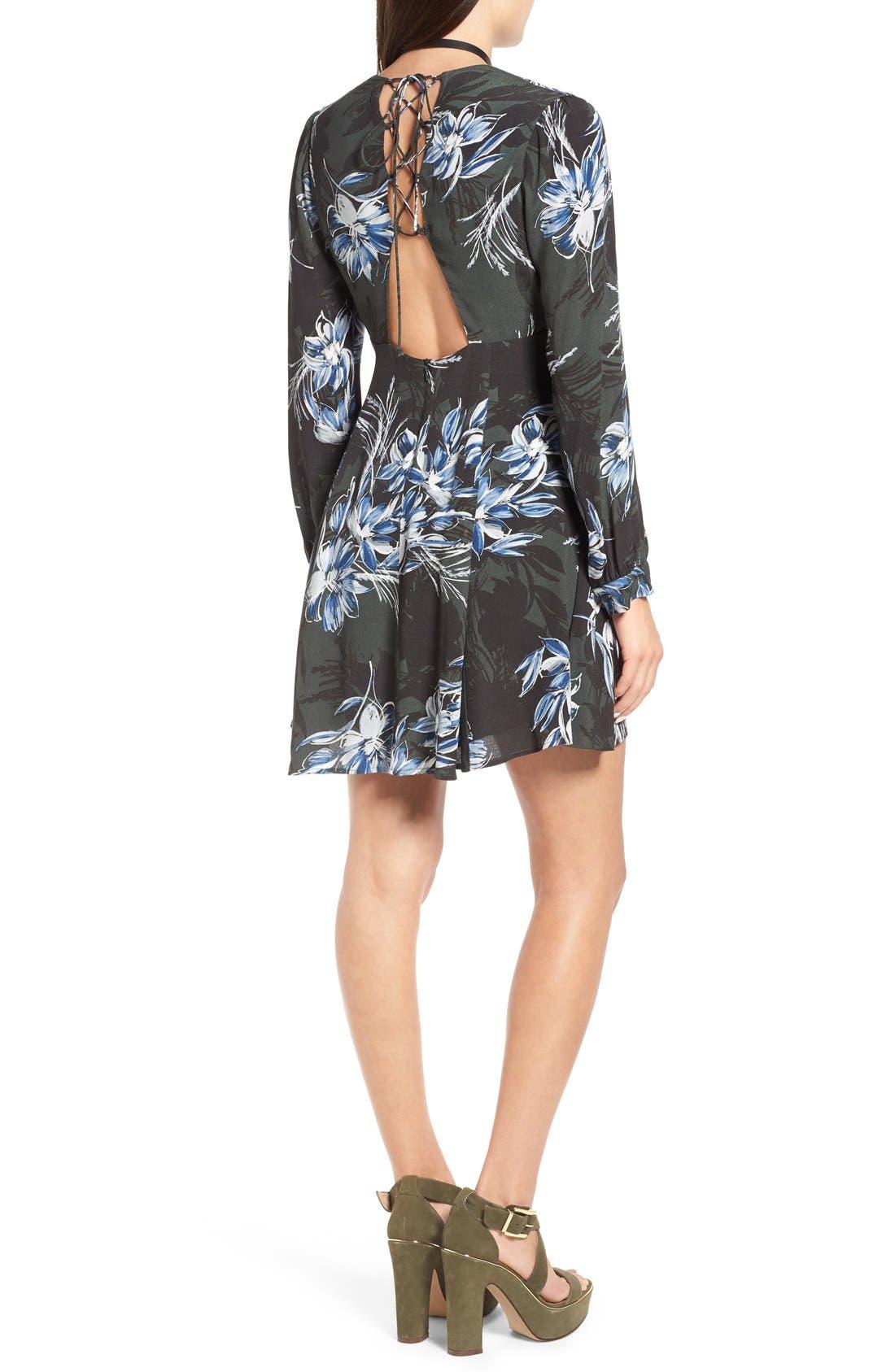 Alternate Image 2  - ASTR 'Mabel' Fit & Flare Dress
