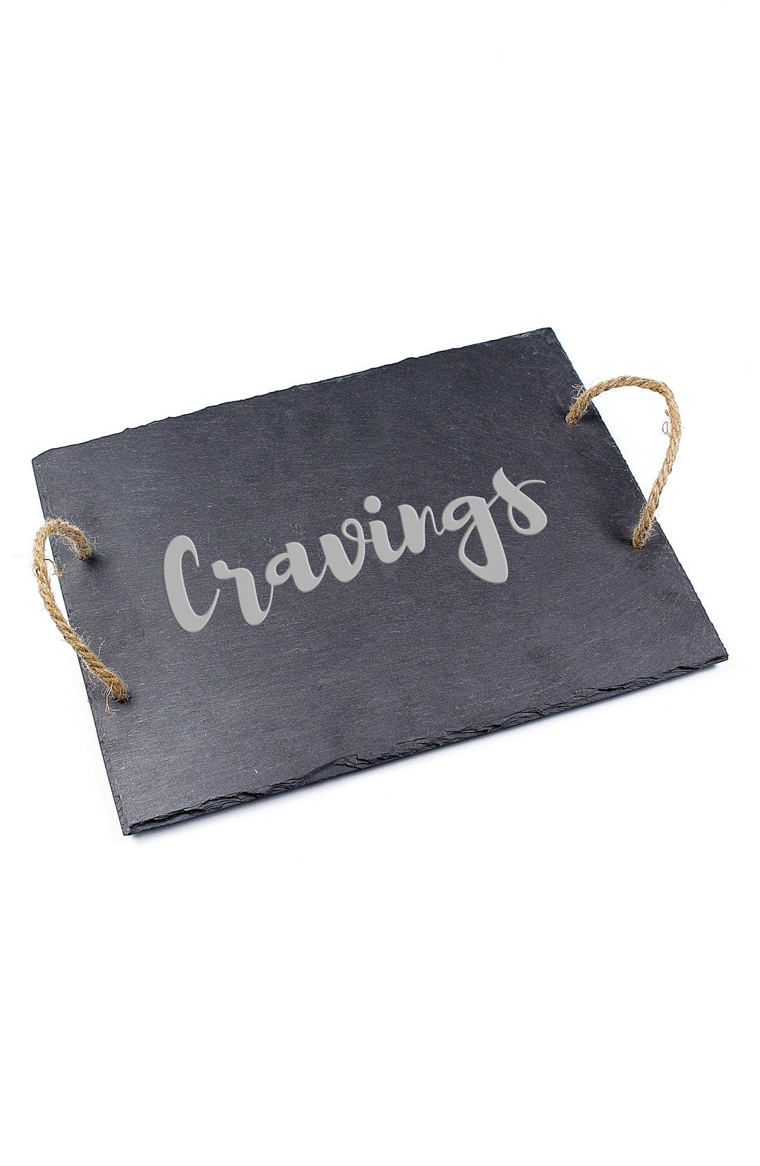 Alternate Image 2  - Cathy's Concepts 'Cravings' Slate Serving Board