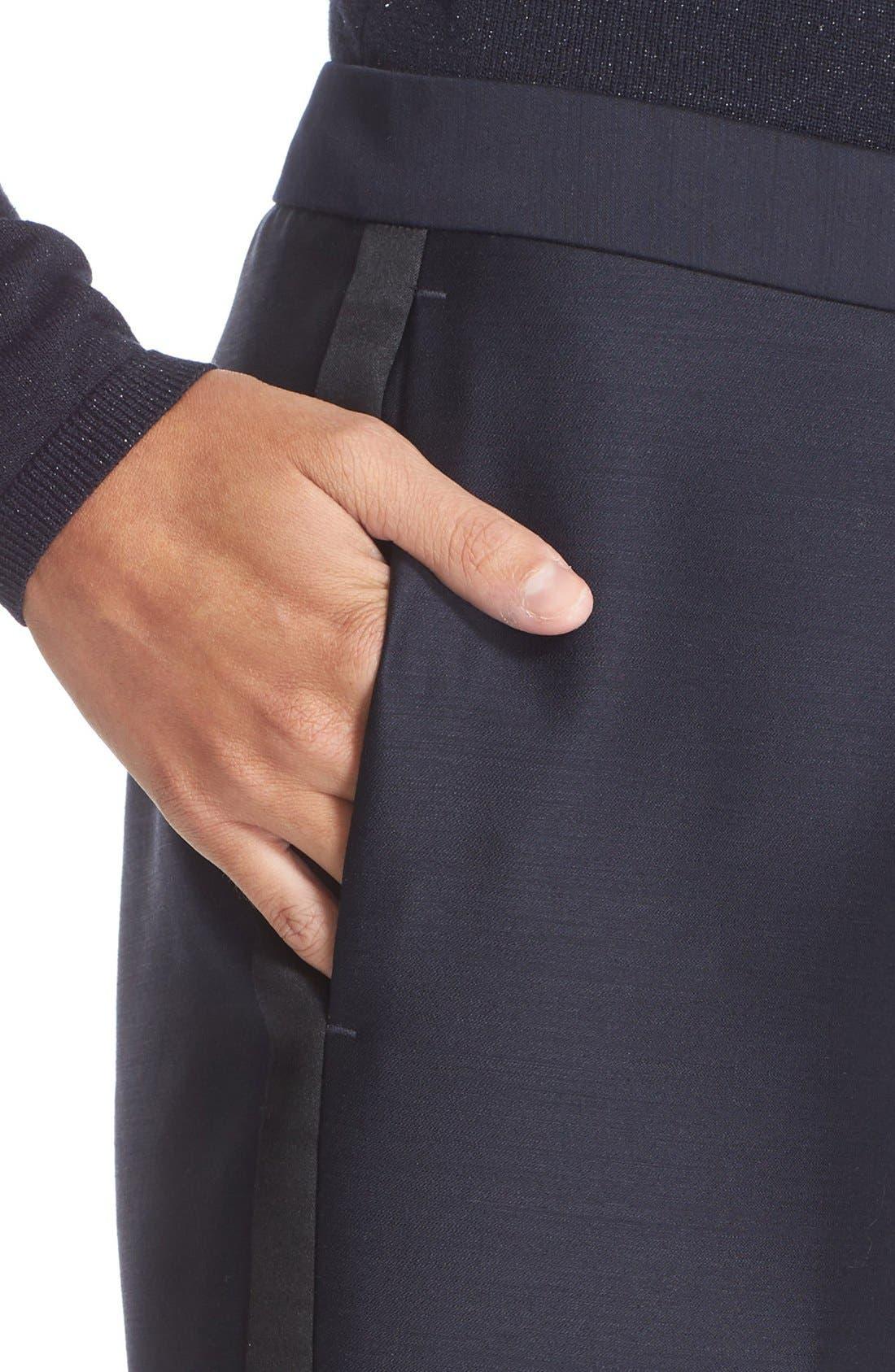 Alternate Image 6  - Nordstrom Signature and Caroline Issa Tuxedo Pants