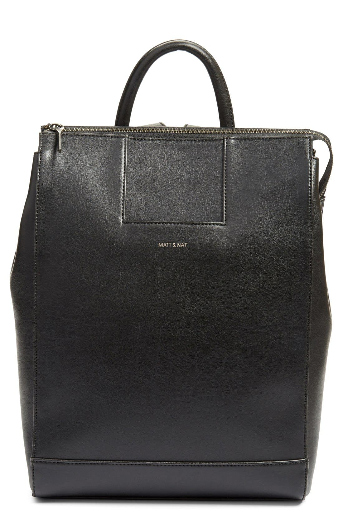Matt & Nat 'Katherine' Faux Leather Backpack