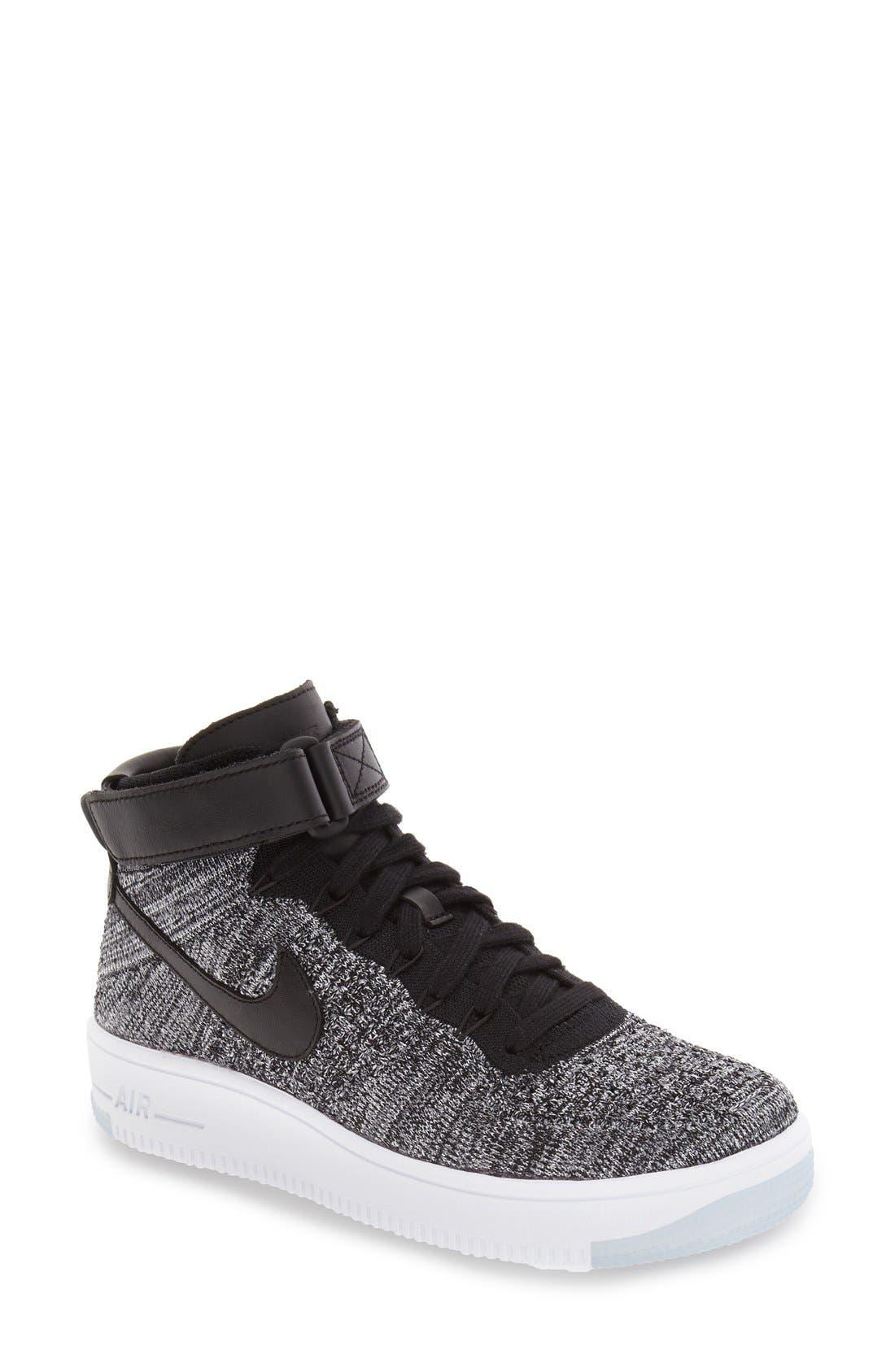 Alternate Image 1 Selected - Nike 'Air Force 1 Flyknit' Sneaker (Women)