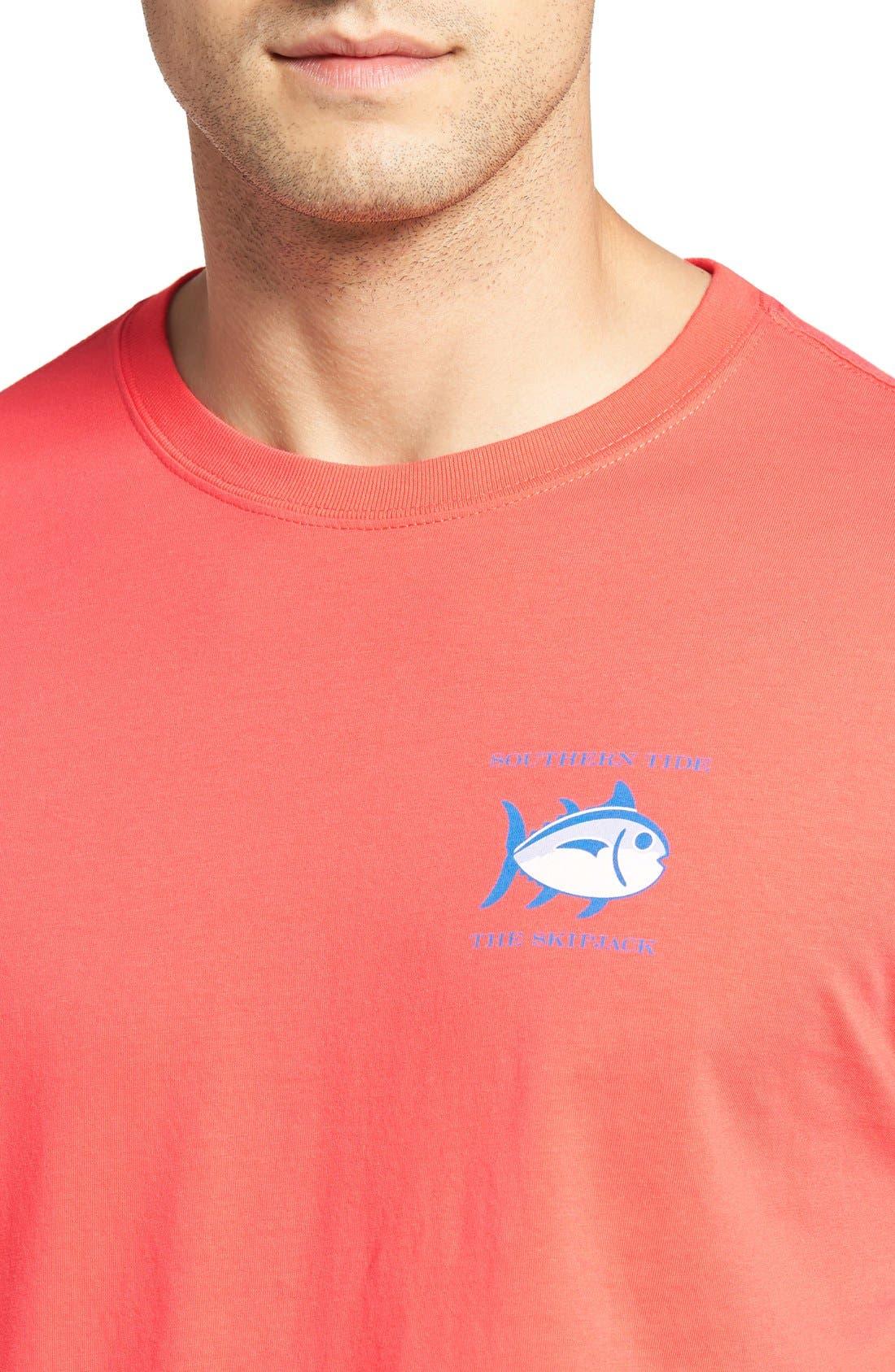 Alternate Image 4  - Southern Tide Short Sleeve Skipjack T-Shirt