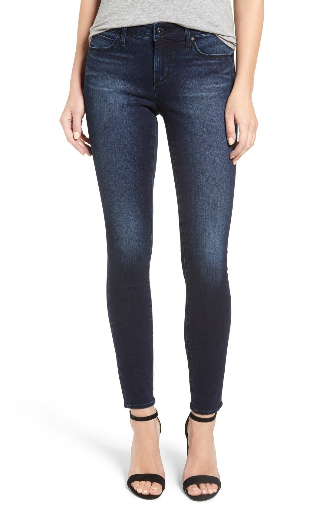 Alternate Image 1 Selected - Articles of Society Sarah Skinny Jeans