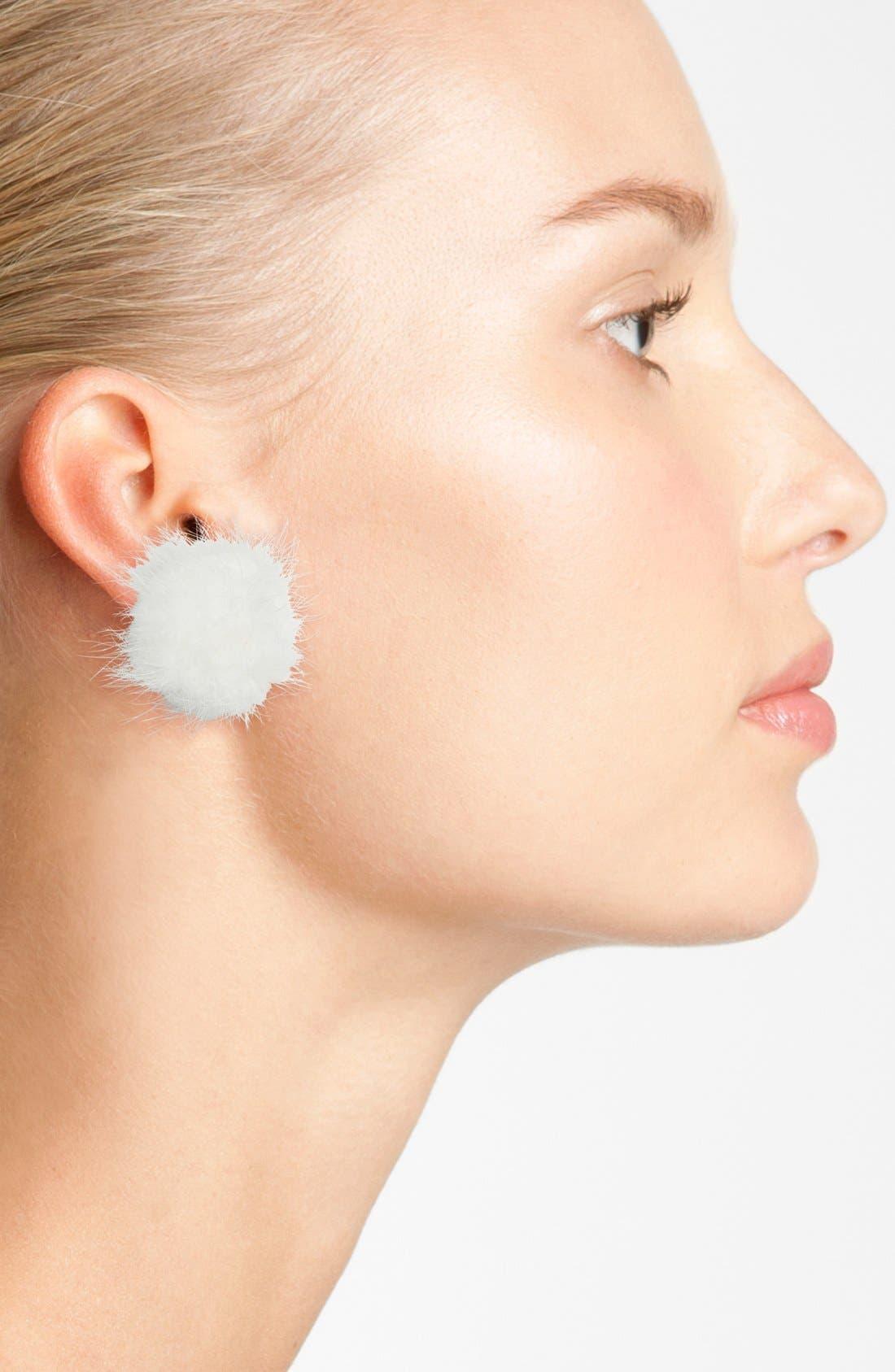 Alternate Image 2  - kate spade new york make magic reversible ear jackets