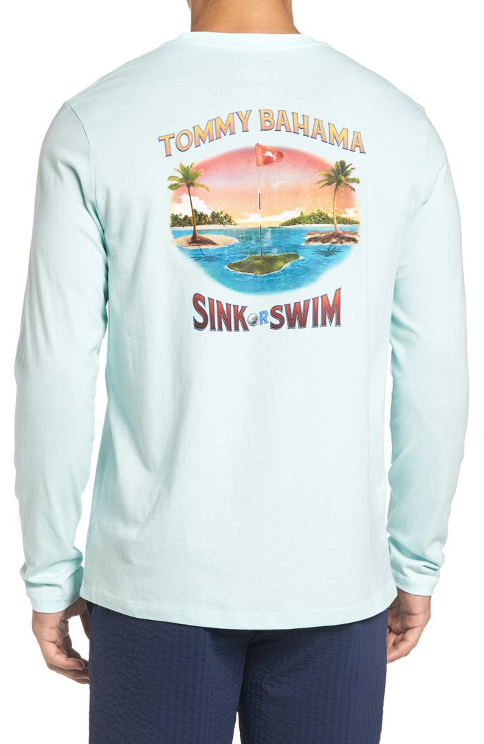 Tommy bahama 39 sink or swim 39 graphic t shirt nordstrom for Custom tommy bahama shirts