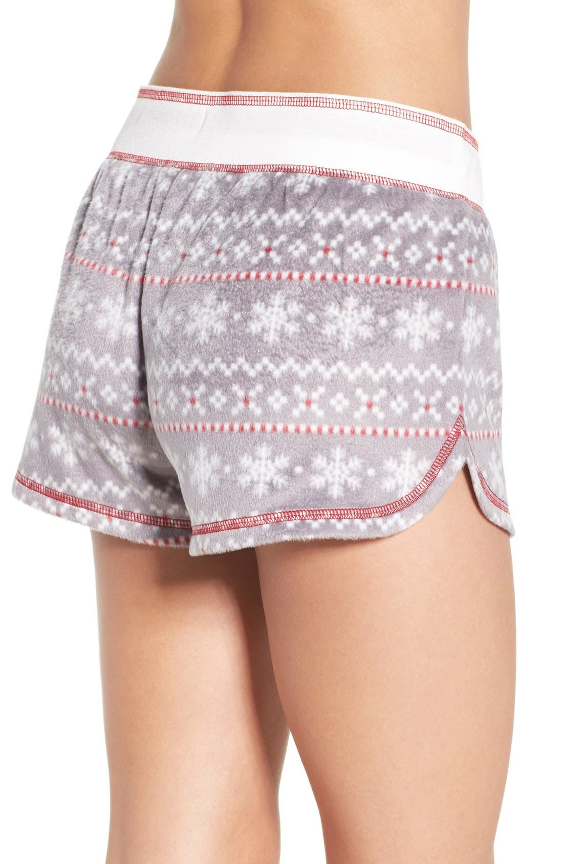 Alternate Image 2  - PJ Salvage Polar Fleece Shorts