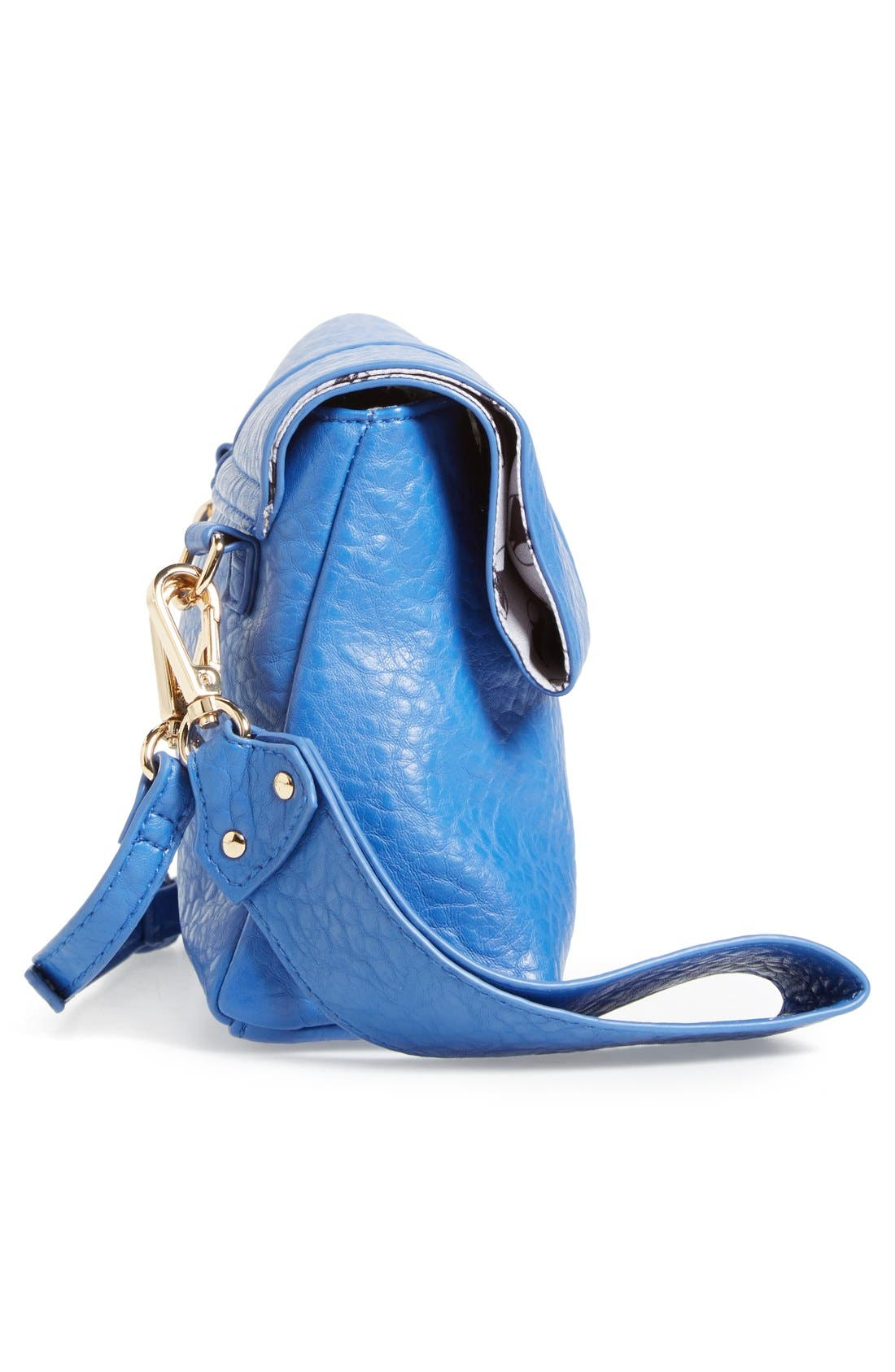 Alternate Image 5  - POVERTY FLATS by rian Faux Leather Convertible Crossbody Bag