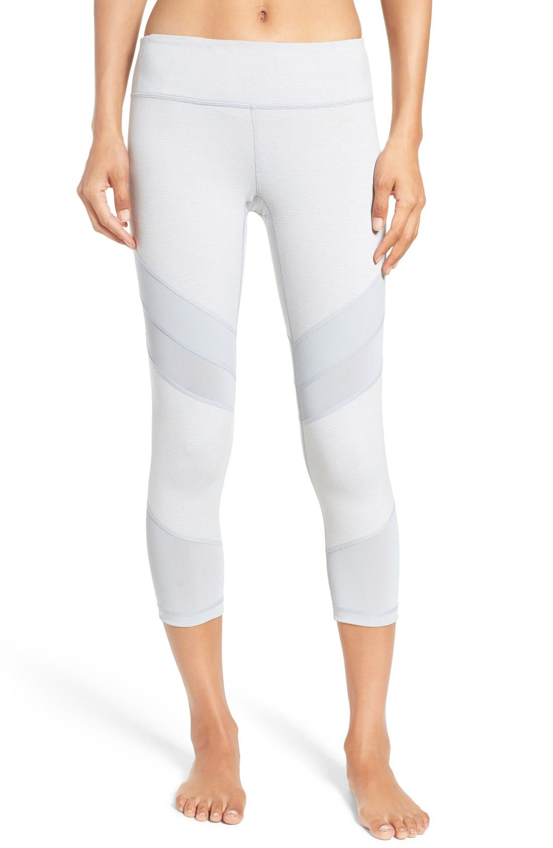 Main Image - Zella 'Live In - Electric Mix' Crop Leggings