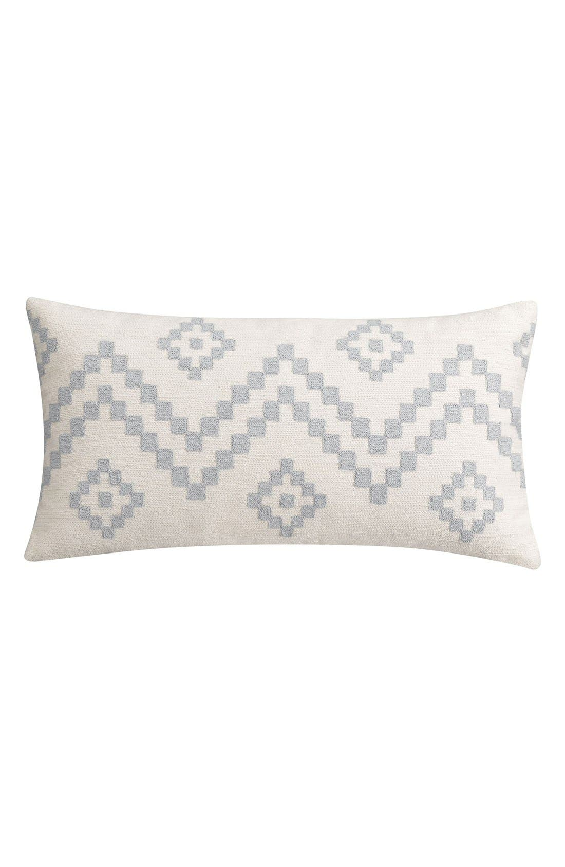 Main Image - cupcakes and cashmere 'Klim' Crewel Embroidered Accent Pillow