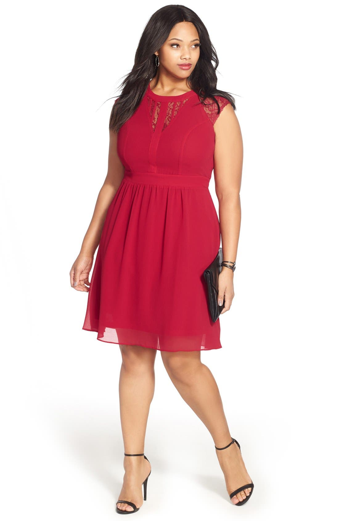 City Chic Dress with Accessories (Plus Size)