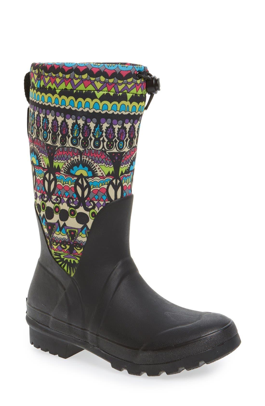 Alternate Image 1 Selected - Sakroots 'Mezzo' Waterproof Rain Boot (Women)