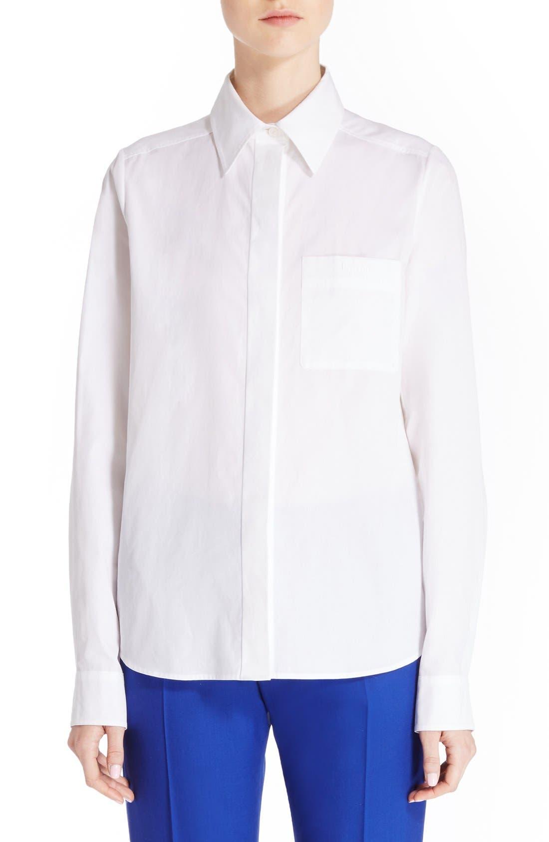 LANVIN Cotton Poplin Shirt