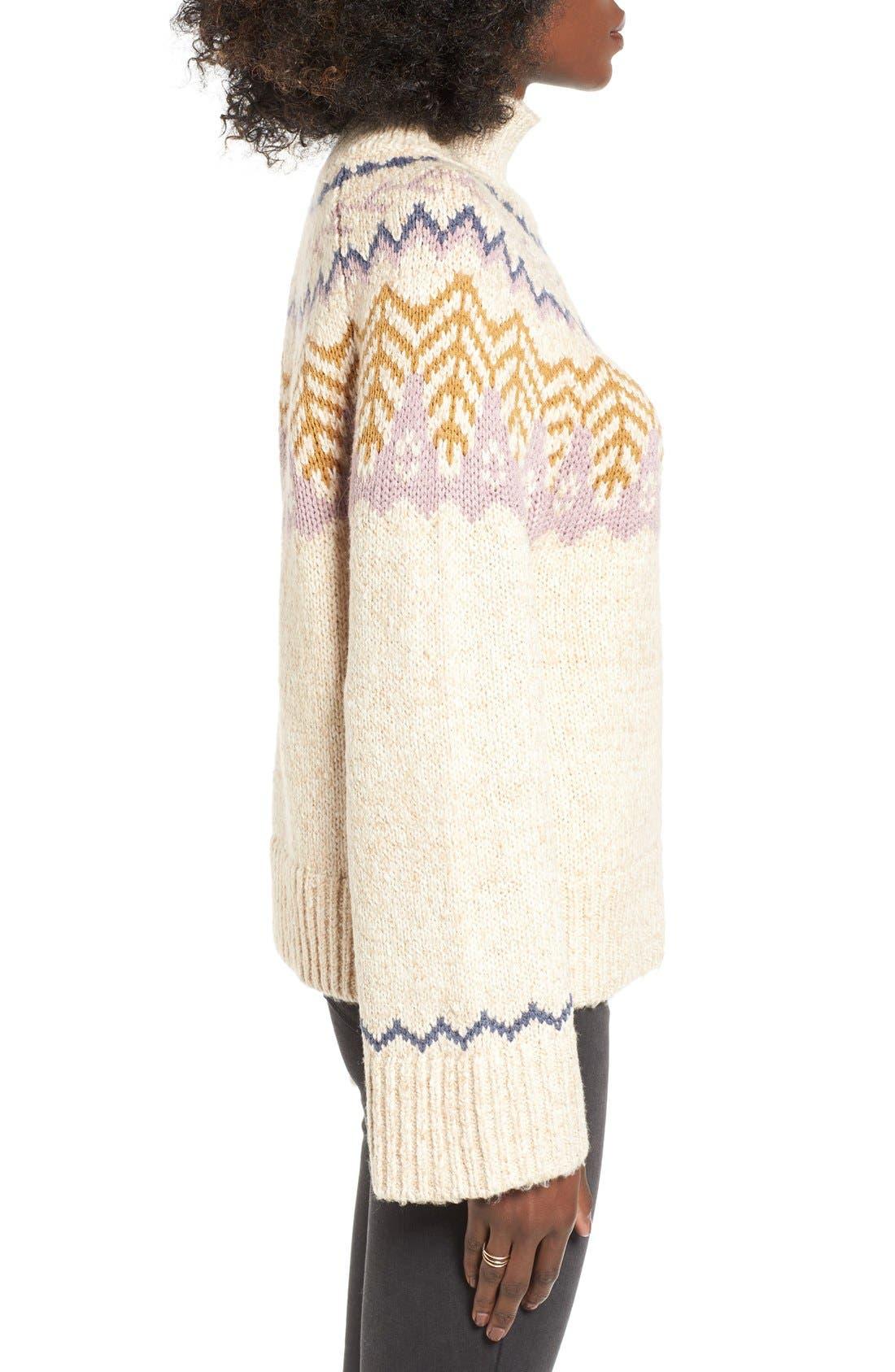 Alternate Image 3  - BP. Fair Isle Knit Pullover