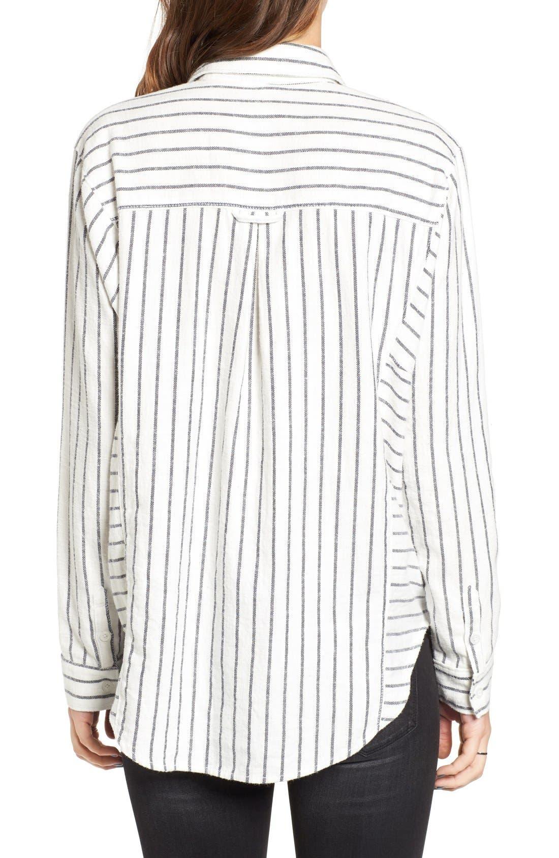 Alternate Image 2  - BP. Stripe Flannel Shirt