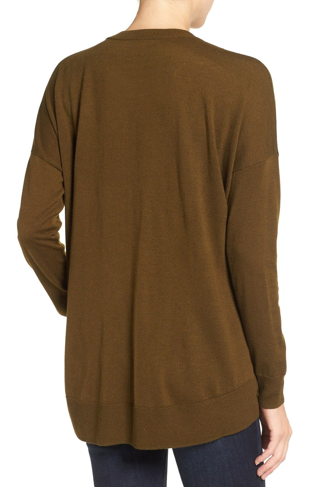 Alternate Image 2  - Madewell Excursion Pullover Sweater
