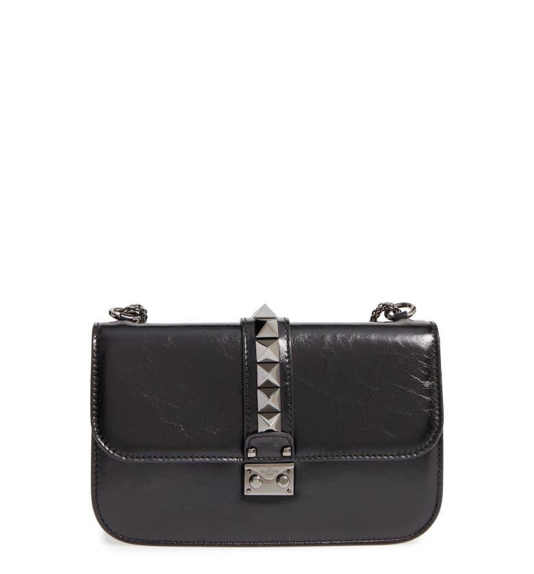 valentino 39 medium lock 39 studded leather shoulder bag nordstrom. Black Bedroom Furniture Sets. Home Design Ideas