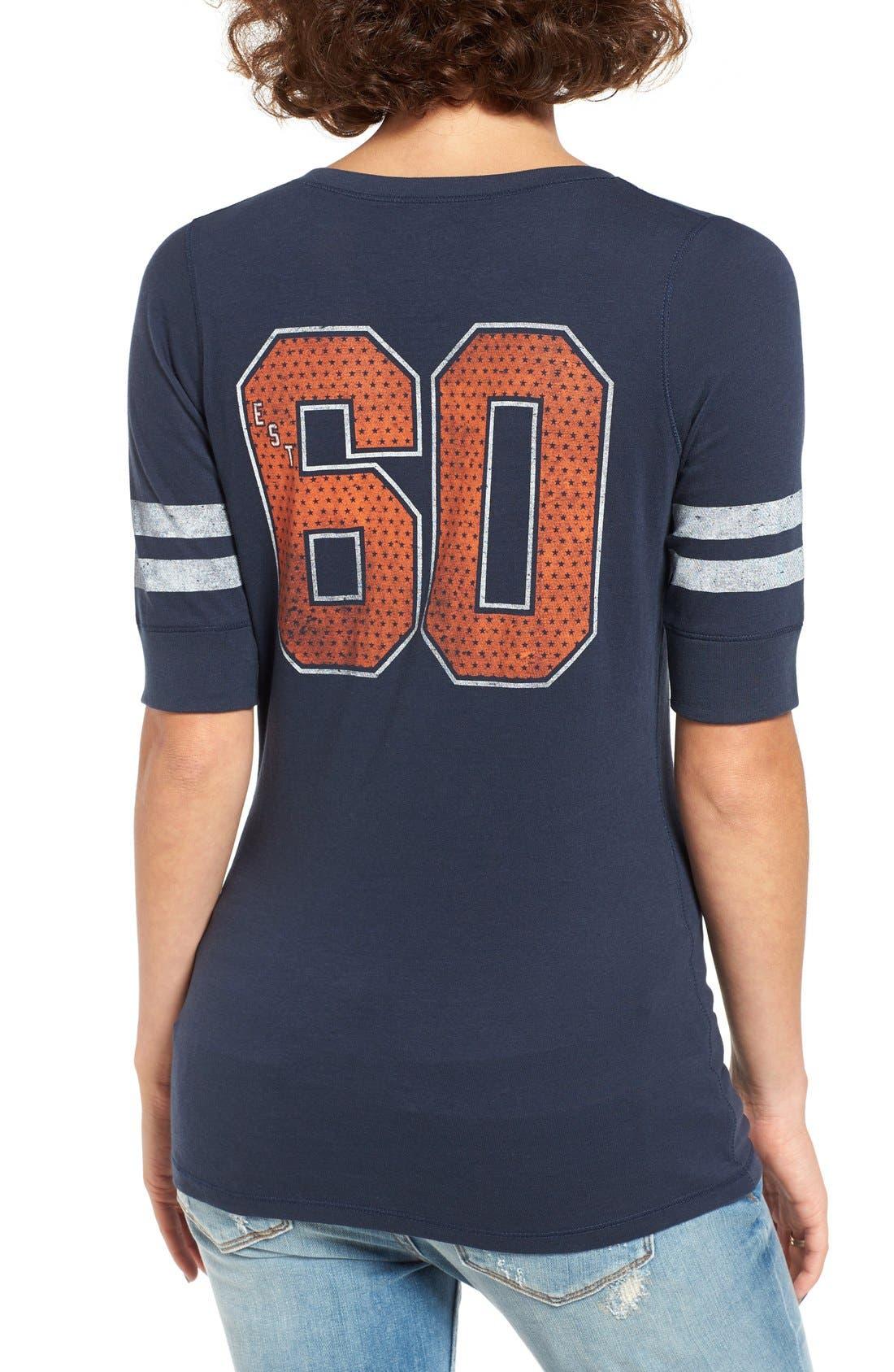 Alternate Image 2  - 47 Brand 'Denver Broncos - Flanker Backer' Graphic Tee