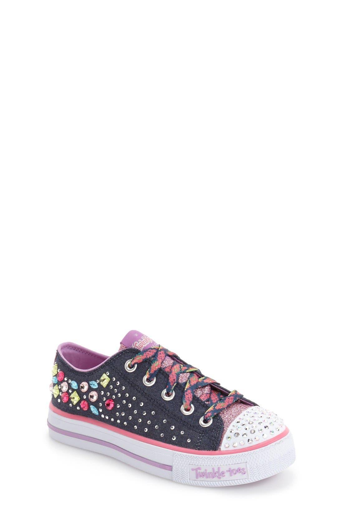 SKECHERS Twinkle Toes Shuffles Light-Up Sneaker
