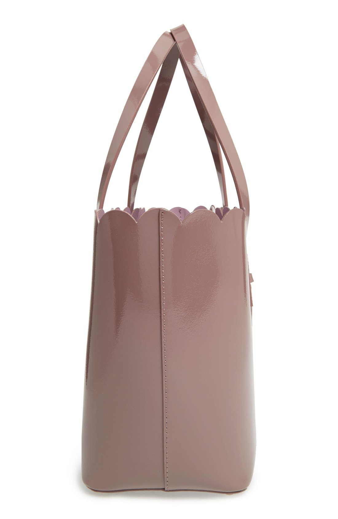 Alternate Image 4  - kate spade new york 'lily avenue patent - small carrigan' leather tote