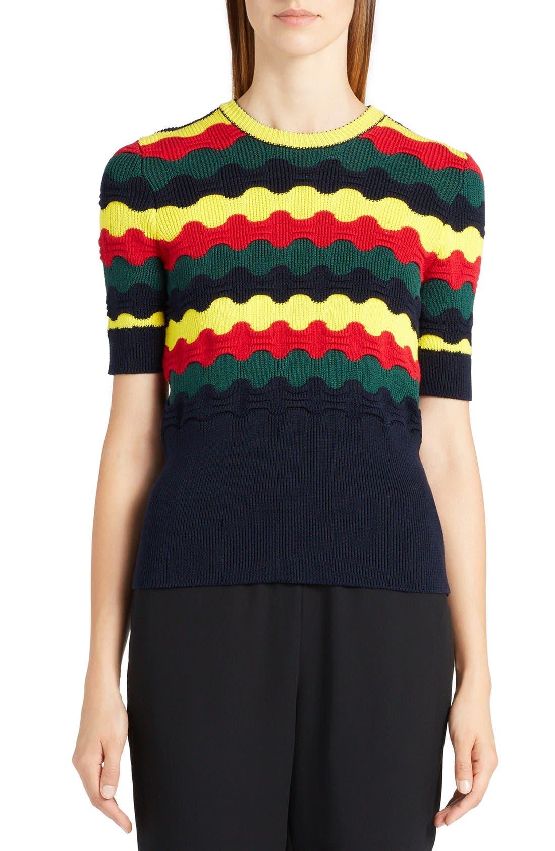 MARNI Multi Wave Sweater