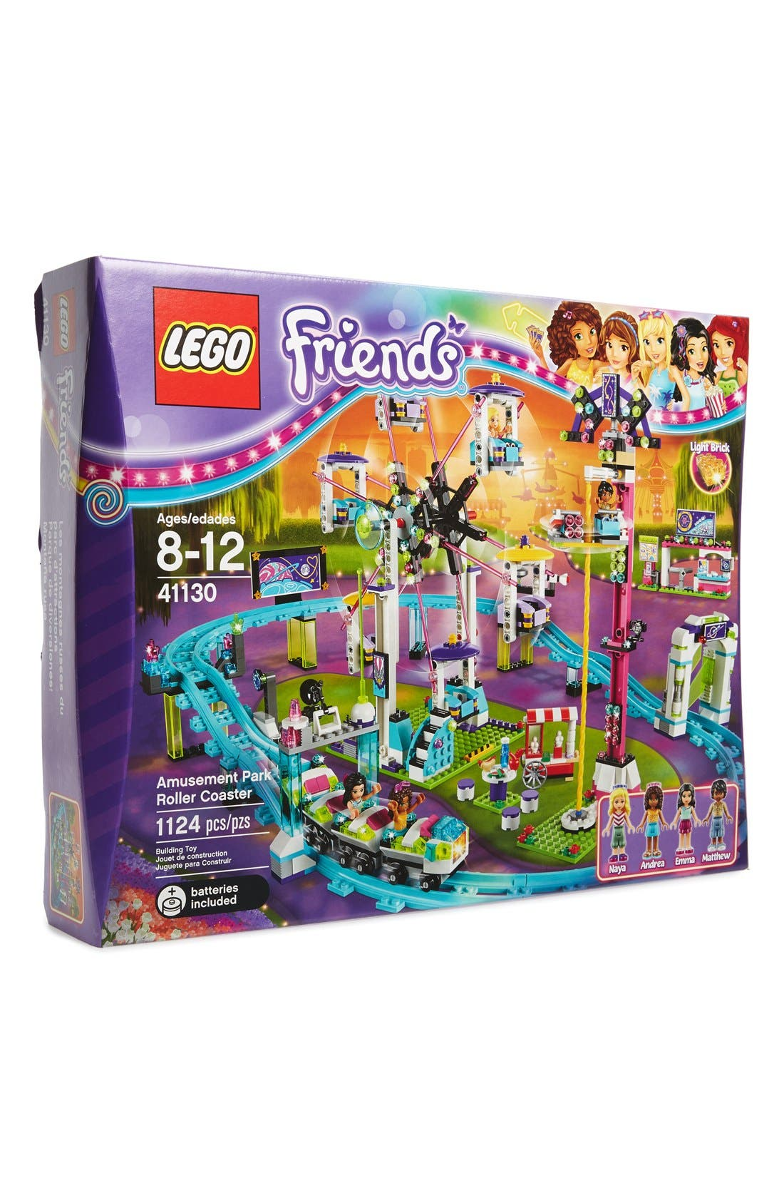 LEGO® Friends Amusement Park Roller Coaster - 41130