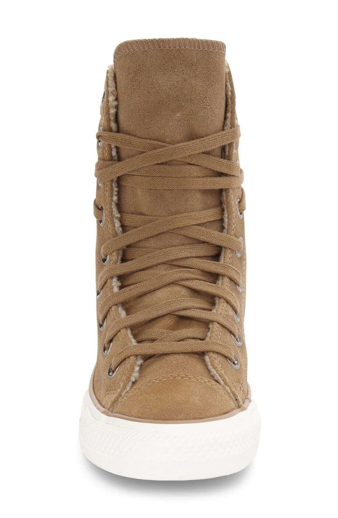 Alternate Image 3  - Converse Chuck Taylor® All Star® High-Rise Sneaker (Women)