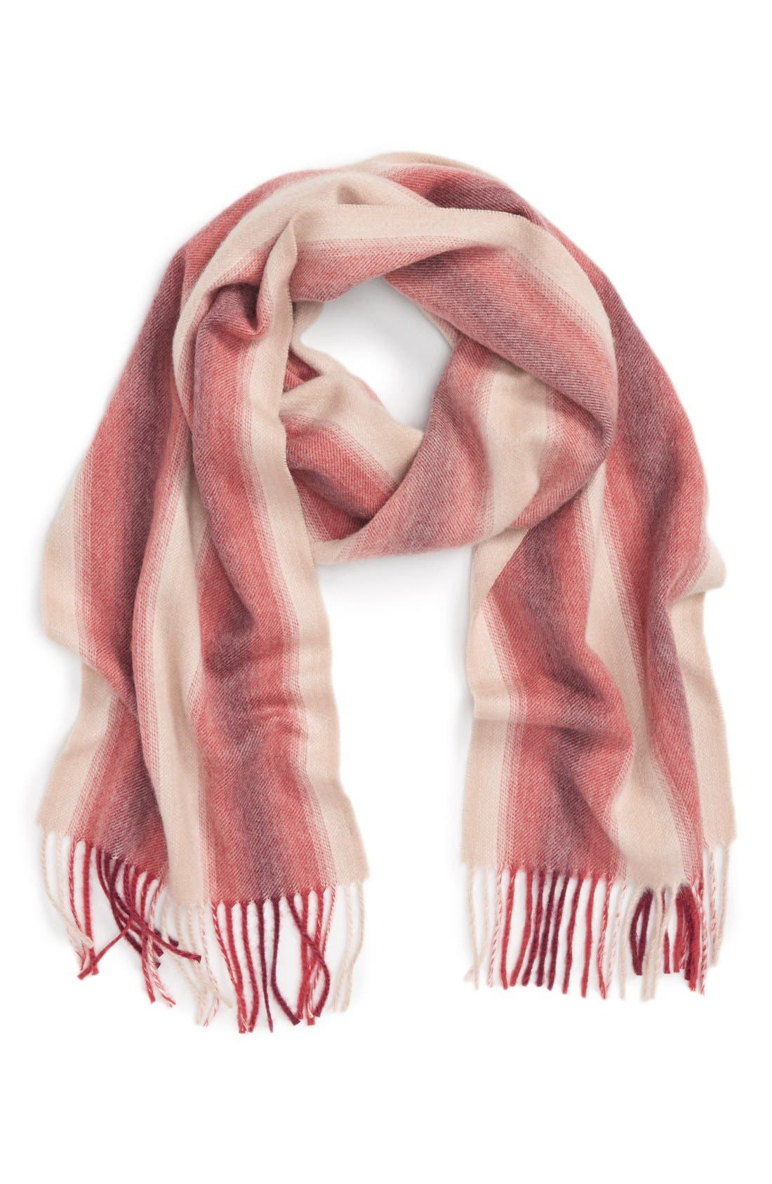 Main Image - Nordstrom Striped Cashmere Scarf