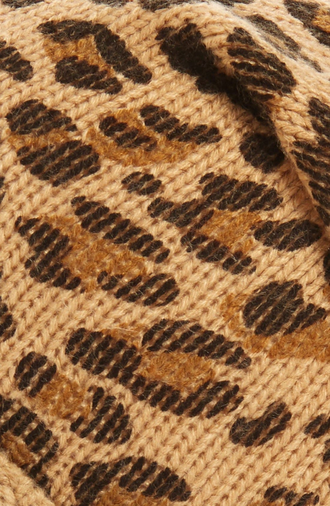 Alternate Image 2  - BP. Leopard Print Slouchy Beanie