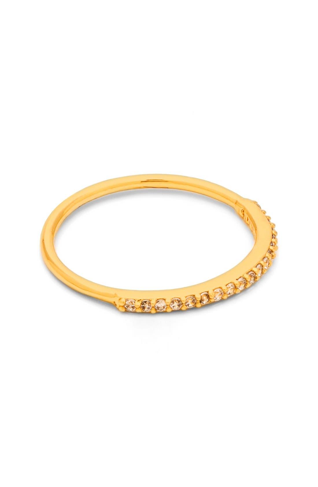 Alternate Image 2  - gorjana Shimmer Bar Midi Ring