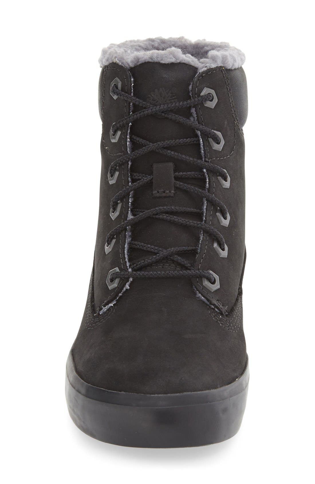 Alternate Image 3  - Timberland Flannery Hidden Wedge Boot with Faux Fur Lining (Women)