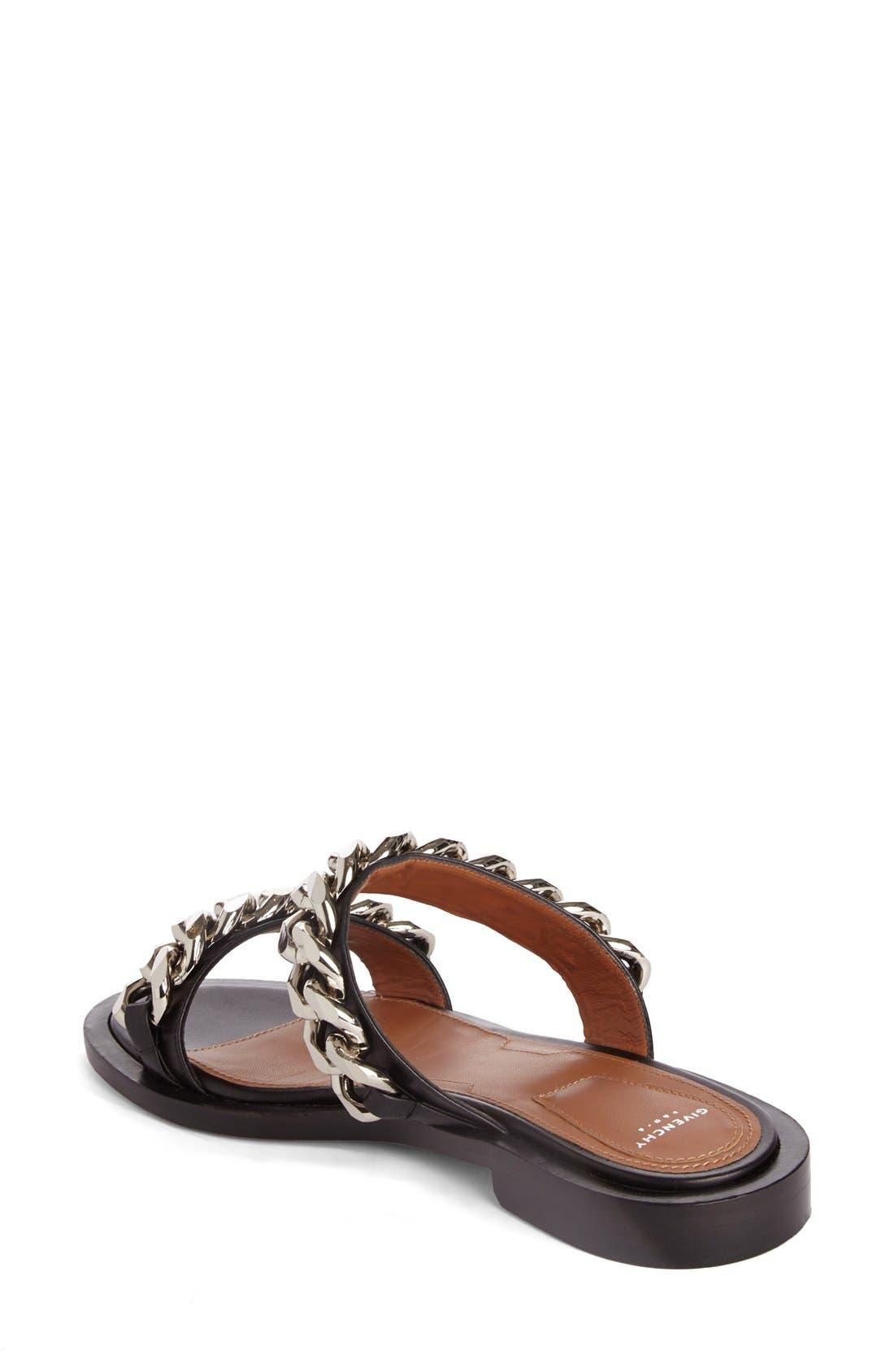 Alternate Image 2  - Givenchy Double Chain Slide Sandal (Women)