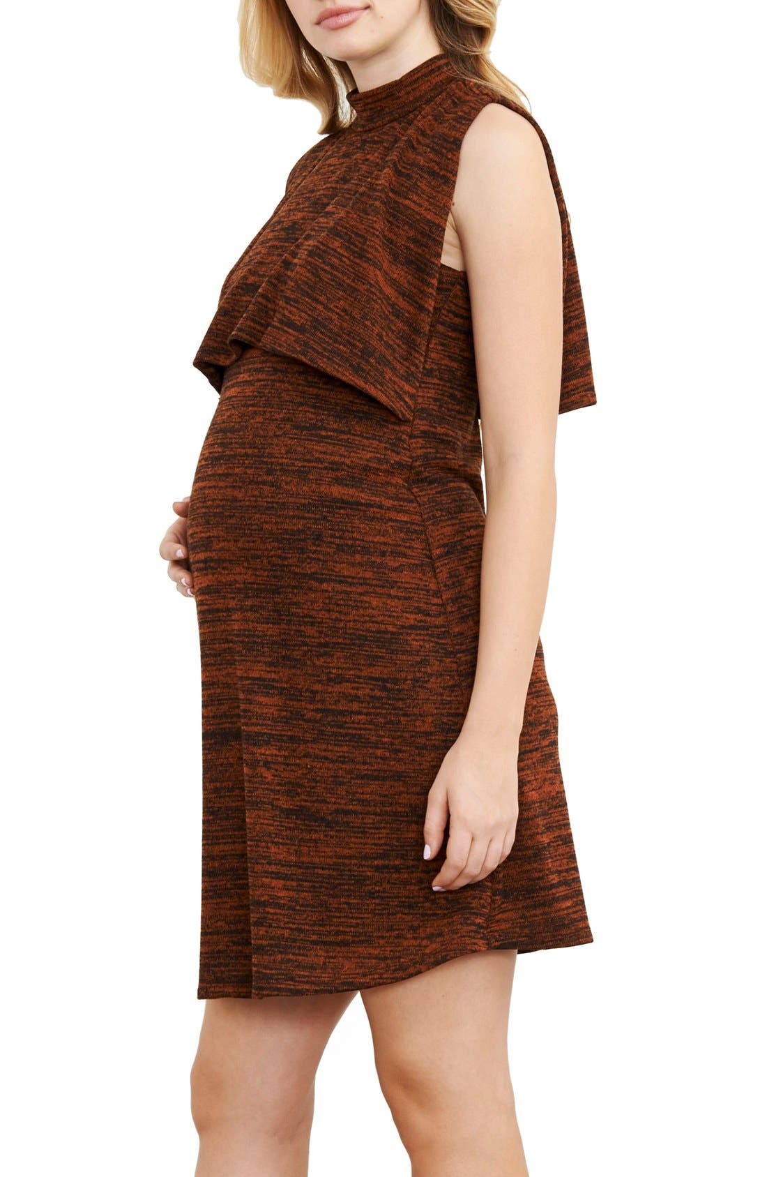 Maternal America Maternity/Nursing Knit Dress