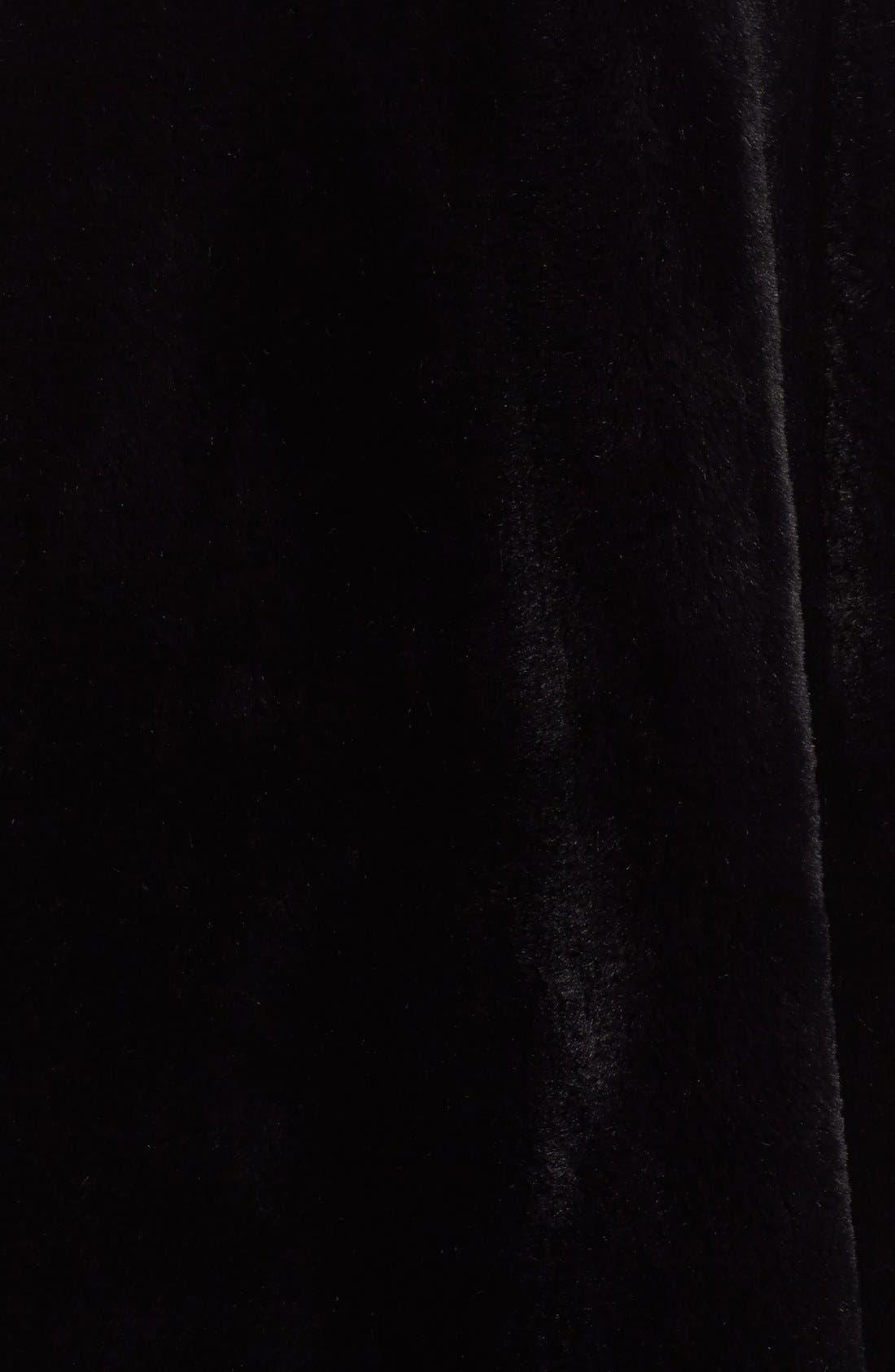 Alternate Image 3  - noir kei ninomiya Studded Faux Fur Coat