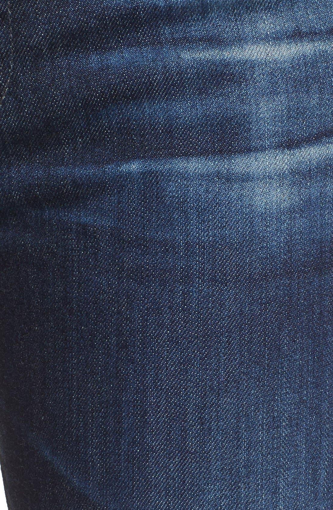 Alternate Image 5  - AG 'The Stilt' Cigarette Leg Jeans (7 Year Ripped)
