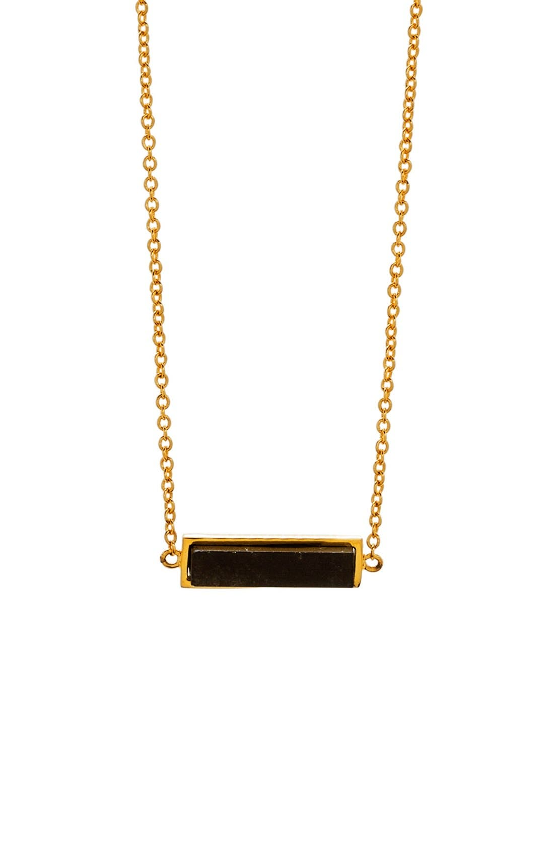 gorjana Dez Bar Pendant Necklace