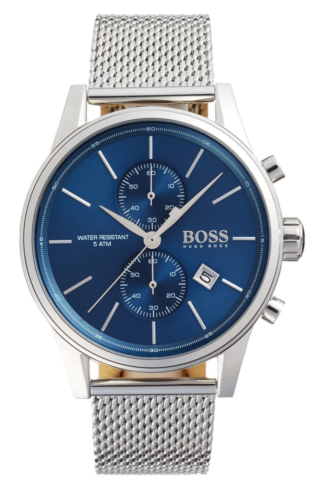 BOSS Jet Chronograph Mesh Strap Watch, 41mm