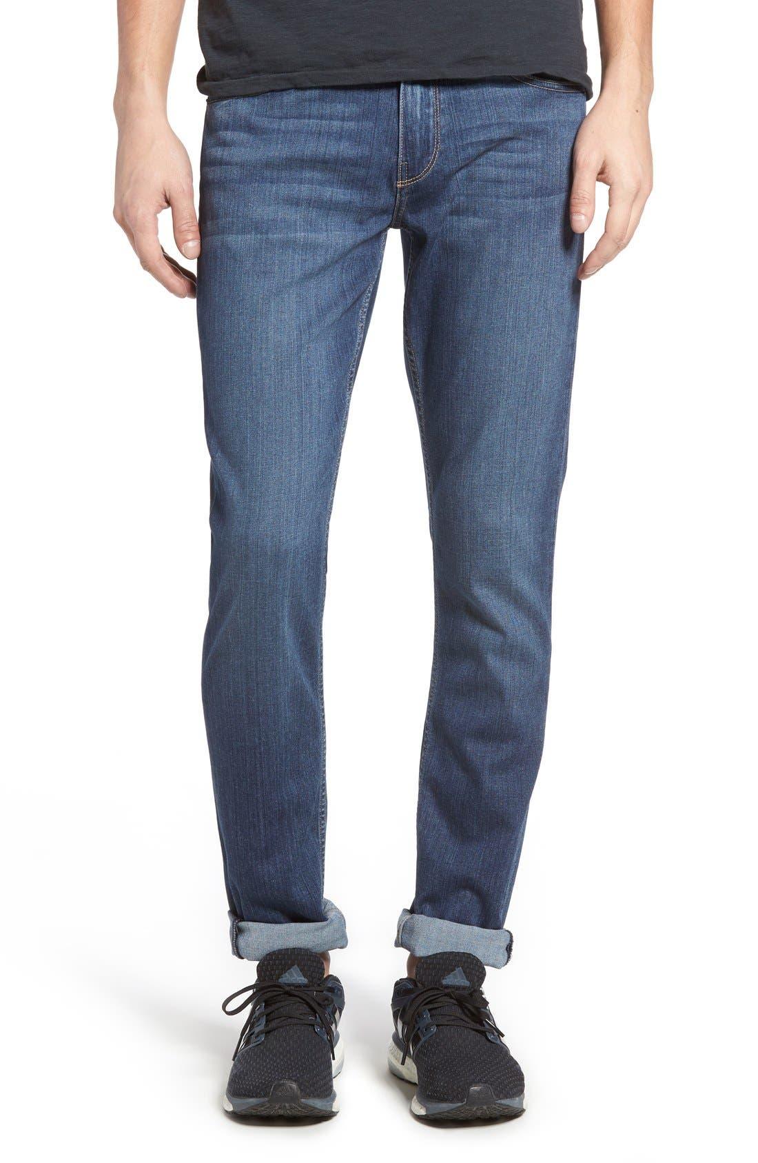 PAIGE Transcend - Croft Skinny Fit Jeans (Birch)