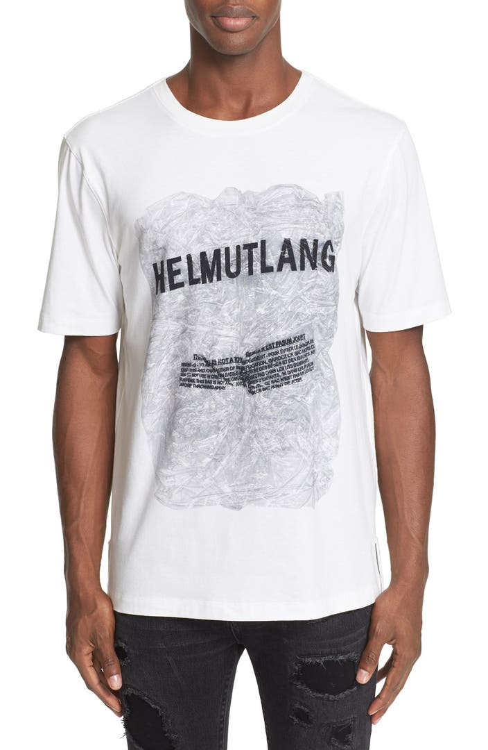 lang graphic t shirt alternate image 4 helmut lang graphic t shirt. Black Bedroom Furniture Sets. Home Design Ideas